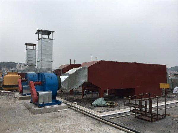 喷淋+活性炭一体塔(有机废气治理)